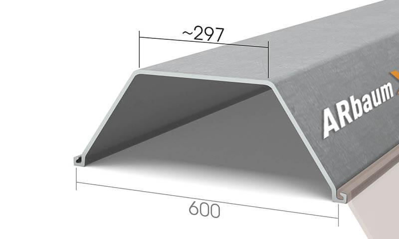 Шпунт Ларсена GU 22N